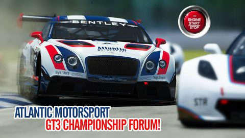 Atlantic Motorsport GT3 Championship announced!